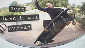 DANE BURMAN – DAMN IT ALL | VIDEO